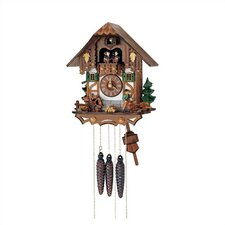 Chalet Cuckoo Wall Clock