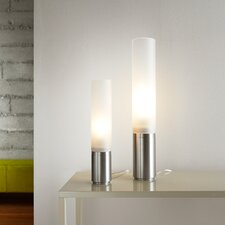 """Elise 12"""" H Table Lamp with Drum Shade"""
