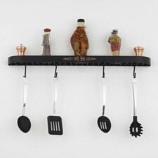 "Monterey 24"" Wall Mounted Pot Rack"