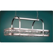 Odysee Rectangular Hanging Pot Rack