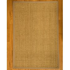Lancaster Handcrafted Light Khaki Area Rug