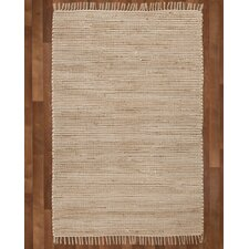 Moscow Hand-Woven Beige Area Rug