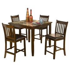 Capitola 5 Piece Dining Set (Set of 5)