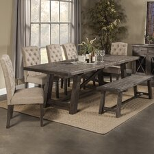 Newberry 7 Piece Dining Table Set