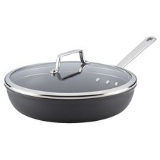 "Authority 12.5"" Non-Stick Skillet with Lid"