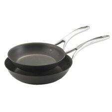 Nouvelle Copper 2 Piece French Skillet Set