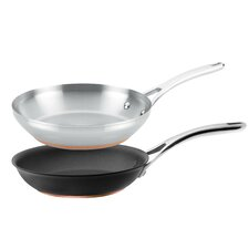 Nouvelle Copper 2 Piece Skillet Set