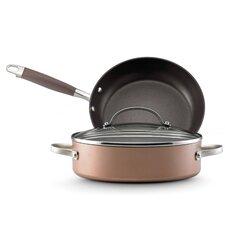 Advanced Bronze 3-Piece Cookware Set
