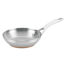 Nouvelle Copper Stainless Steel French Skillet
