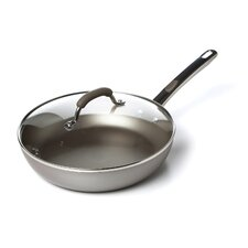 "Specialties Aluminum Nonstick 10.5"" Skillet with Lid"