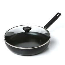 """11"""" Non-Stick Skillet with Lid"""