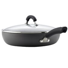 """12"""" Non-Stick Skillet with Lid"""