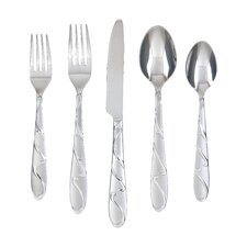Chipotle Sand 20 Piece Flatware Set