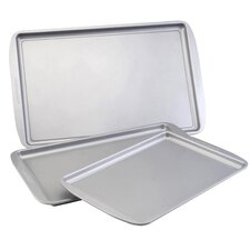Nonstick 3 Piece Baking Sheet Set