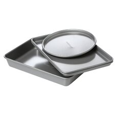 Faberware Nonstick 4 Piece Toaster Oven Bakeware Set
