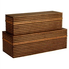 Trinity Wooden Boxes (Set of 2)