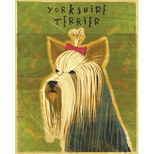 Top Dog Yorkshire Terrier Wall Mural