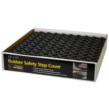 Pro-Series Adhesive Rubber Step Cover (Set of 12)