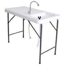 "Sportsman Series 42"" Rectangular Folding Table"