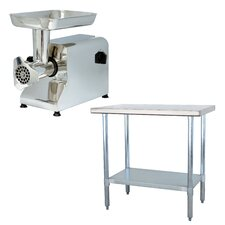 Sportsman Series Meat Grinder and Work Table Set