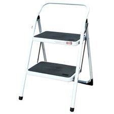 AmeriHome 2-Step Steel Step Stool with 300 lb. Load Capacity