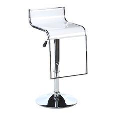 Ameri Home Adjustable Height Swivel Bar Stool (Set of 2)