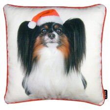 Holiday Papillion Throw Pillow