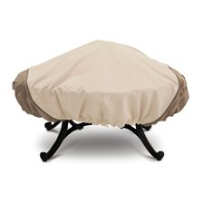 Veranda Large Round Fire Pit Cover in Pebble