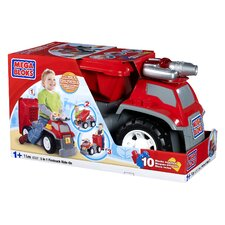 Mega Bloks CAT 3-in-1 Push/Scoot Fire Truck
