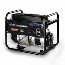 Power Boss 1,700 Watt Fuel Portable Generator with Recoil Start