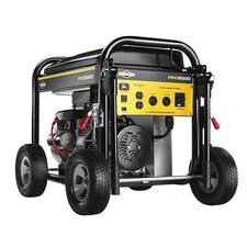 5,000 Watt Pro Series Portable Generator with Electric Start and Wheel Kit
