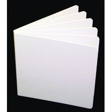 White Hardcover Blank Book (Set of 3)