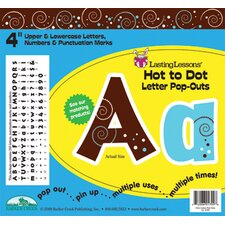 Hot to Dot Pop-outs Letters & Numbers