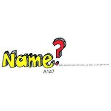 Stamp Name Tag (Set of 2)