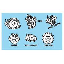 Grading Stamps Happy Bugs (Set of 6)