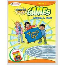 Engage The Brain Games Grade 1 Book