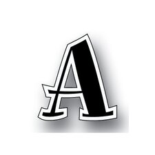 Spumoni Uppercase Letters
