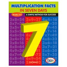 Multiplication Facts in 7 Days Book
