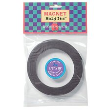 Magnet Hold Its 1/2 X 10 Roll w/ (Set of 3)