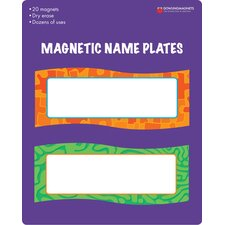 Magnetic Name Tag (Set of 20)