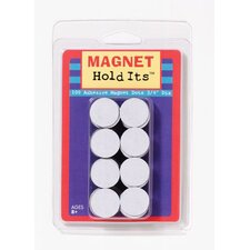 100 3/4 Dia Magnet Dots With (Set of 3)
