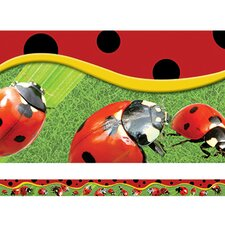 Ladybugs Layered Classroom Border (Set of 2)