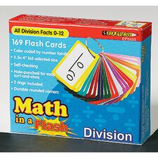 Math in a Flash Division Flash Card