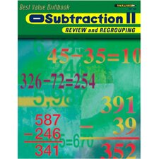 Subtraction 2 Review and Regrouping Book