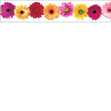 Spring Flowers Photo Classroom Border (Set of 2)