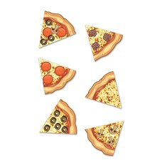 Pizza Slices Mini Accent (Set of 123)