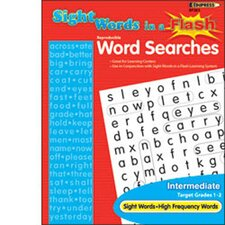 Sight Word Searches Beginning Learning Tool