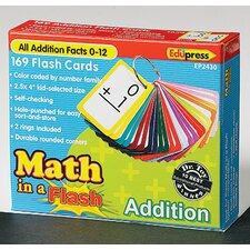 Math in a Addition Flash Cards