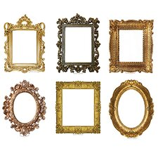 Fancy Frames Bulletin Board Accent (Set of 43)