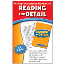 Reading for Detail Practice Cards Book